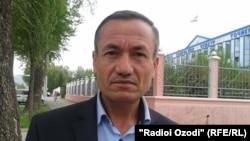 Давлатали Гайратов, отец Усмонали Гайратова, врача, приговоренного в Таджикистане к тюремному заключению за дедовщину.