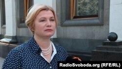 Ірина Геращенко, народна депутатка («Європейська солідарність»)