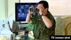 Türkmenistanyň prezidenti G.Berdymuhamedow Akdepe harby bazasynda