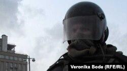 Ռուս ոստիկանը Մոսկվայի փողոցներում, արխիվ