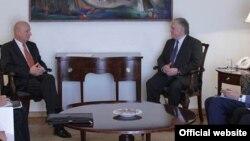 Լեհաստանի փոխարտգործնախարարի և Հայաստանի արտգործնախարարի հանդիպումը