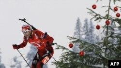 Норвежский биатлонист Оле-Эйнар Бьорндален
