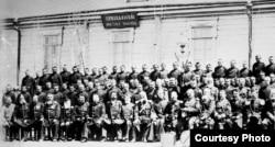 Түркістан өлкесіндегі патша әскерилері. 1916 жыл.