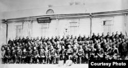 Царские войска в Туркестанском крае. Фото 1899 года.