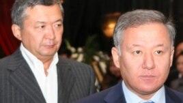 Аким Мангистауской области Бауржан Мухамеджанов (слева).