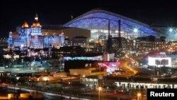 Орусия -- Олимпия паркындагы башкы стадион. Сочи, 29-январь, 2014