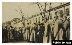 Soldati revoluționari ruși la Odesa