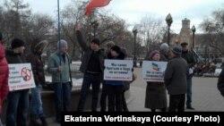 Сегодня в Иркутске проводились две акции в связи с кризисом на Украине