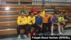 منتخب شباب العراق لكرة الهدف للمكفوفين
