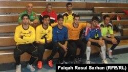 منتخب الشباب الوطني لكرة الهدف للمكفوفين