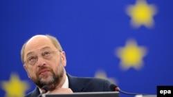 Presidenti i Parlamentit Evropian, Martin Schulz (ARKIV)