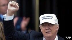 Donald Trump la sosirea în Scoția, 24 iunie 2016