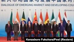Иштирокдорони саммити BRICS дар Чин