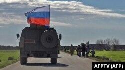 Сүриядә Русия хәрби машинасы