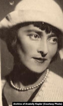 Тетяна Тарновська, яка, можливо, в мистецтві німого кіно зазнала б слави Віри Холодної, якби не дворянське походження (фото з архіву її сина Анатолія Каплера, який у зрілому віці емігрував до Німеччини)