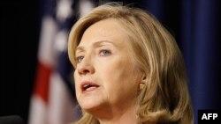 Aмериканскиот државен секретар Хилари Клинтон