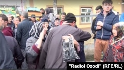 Амнистия таджикских заключенных. Душанбе, 28 октября 2019 года.