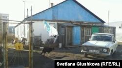 Дом семьи Базильбековых, давшей приют соседям. Астана, 16 ноября 2013 года.