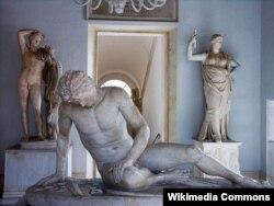 Ölən qall (qladiator)