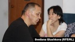 Әділбек Мейрамов пен жұбайы Гүлзара Арықбаева. Астана, 28 желтоқсан 2015 жыл.