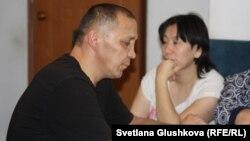 Әділбек Мейрамов пен оның әйелі Гүлзада Арықбаева. Астана, 28 желтоқсан 2015 жыл.