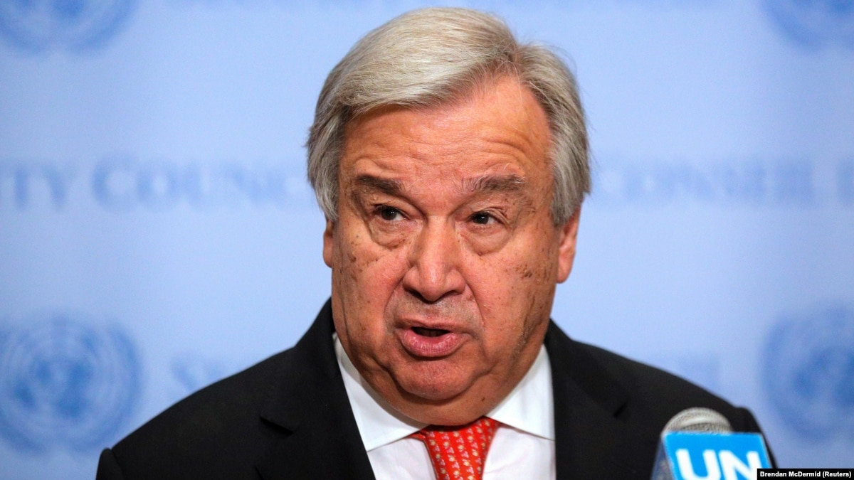 UN Secretary-General To Give Report On Crimea At General Assembly