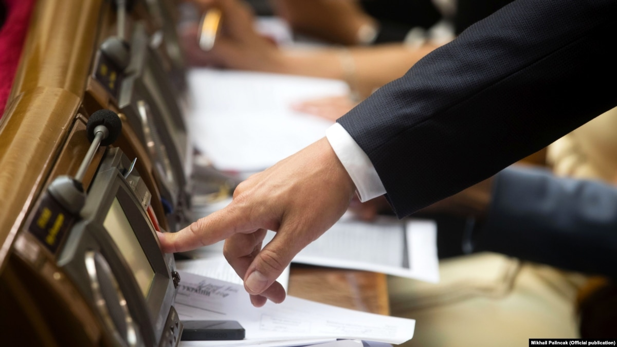 Рада приняла закон об уголовной ответственности за «кнопкодавство»