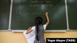 Урок татарского языка в Казани. Архивное фото