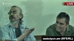 Ժիրայր Սեֆիլյանը և Գևորգ Սաֆարյանը դատարանում, արխիվ