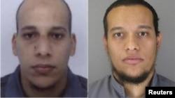 Шеріф та Саїд Куаші, підозрювані у нападі на редакцію