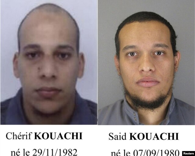 Фотографии террористов
