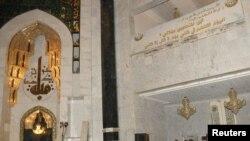 Бағдадтағы жарылыс болған сүнниттер мешіті.