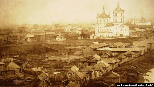 Город Кузнецк в начале ХХ века