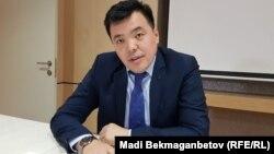Мәди Мырзағараев, Қуандық Бишімбаевтың адвокаттарының бірі. Астана, 24 қазан 2017 жыл.