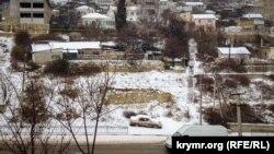 Снег в Севастополе. 27 февраля 2018 года