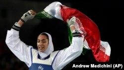 Кимия Ализаде на Играх в Рио.