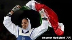 Таэквондодан 2016 жылғы Рио олимпиада ойындарының қола жүлдегері ирандық Кимия Әлизадех