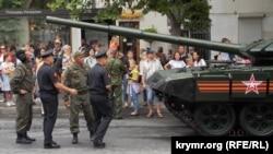 Військовий парад у окупованому Севастополі, 24 червня 2020 року