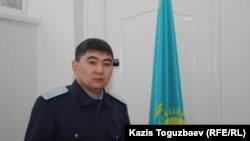 Әділет Қуандықов, Бостандық ауданының прокуратура қызметкері. Алматы, 10 ақпан 2013 жыл
