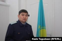 Адилет Куандыков, сотрудник прокуратуры Бостандыкского района Алматы. 10 февраля 2014 года.