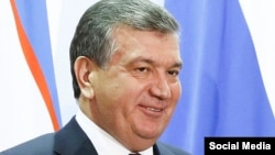 Acting Uzbek President Shavkat Mirziyoyev