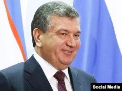 Шавкат Мирзиёев, иҷрокунандаи мақоми раиси ҷумҳури Узбакистон.