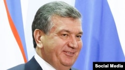 O'zbekiston prezidenti Shavkat Mirziyoev.