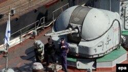 """Русия хәрби диңгез көчләренең """"Суздалец"""" көймәсе"""