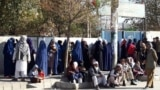 People voting in the parliamentary election in Kabul on October 20