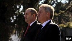 Архива: Прес-конференција во Скопје на претседателите на Бугарија и на Македонија, Румен Радев и Ѓорге Иванов.
