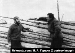 Игорь Ефимов навещает Иосифа Бродского в ссылке