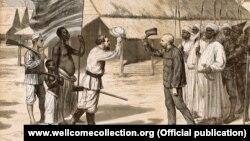 Встреча Дэвида Ливингстона и Генри Мортона Стэнли в Африке, 1872 год