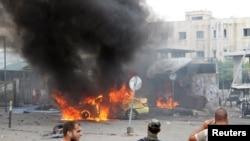 Suriye, patlavlardan biri olğan yer