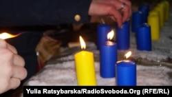Кількість свічок дорівнює кількості днів оборони аеропорту